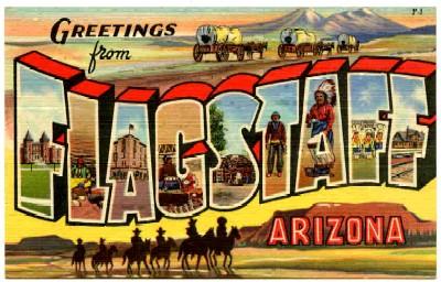 FlagstaffAZ-66Postcard